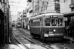Japon, tram de Nagasaki