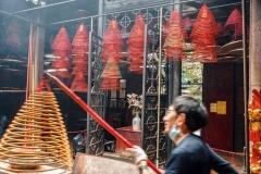 Hong Kong - Temple Hung Shing - Wanchai